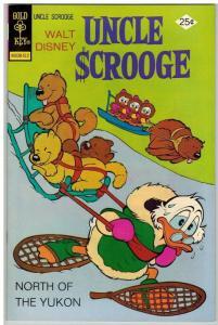 UNCLE SCROOGE 124 FN Dec. 1975
