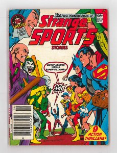 DC Special Blue Ribbon Digest (1980) #13 FN- Strange Sports Stories