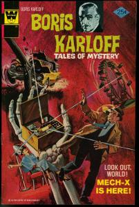 BORIS KARLOFF TALES OF MYSTERY #66-HORROR COMIC VF/NM
