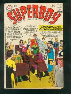 SUPERBOY #117 1964-ELUSIVE LEGION ISSUE-DC SILVER AGE-  G/VG