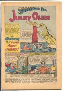 Superman's Pal Jimmy Olsen #53 1961-DC-Superman-Aquaman-P