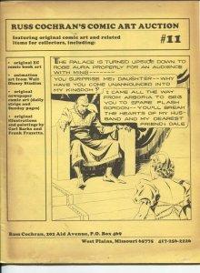 Russ Cochran's Comic Art Catalog #11 1982-Jim Ivey's copy-Jack Davis-Wally Wood-