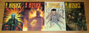 the Night Club #1-4 VF/NM complete series MIKE BARON zombies & religion? set lot