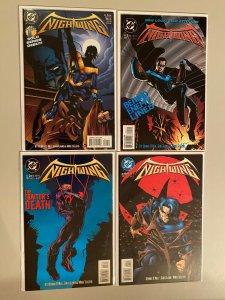 Nightwing set #1-4 8.0 VF (1995 Mini-Series)