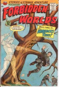 FORBIDDEN WORLDS 142 VG-F  Mar.-Apr. 1967 COMICS BOOK