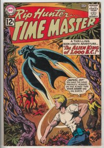 Rip Hunter Time Master #9 (Aug-62) NM- High-Grade Rip Hunter, Jeff, Bonnie, C...