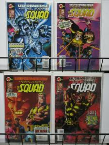ULTRAVERSE YEAR ZERO DEATH OF THE SQUAD (1994THE SET!