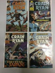 Crash Ryan set #1-4 6.0 FN (1984 Epic)
