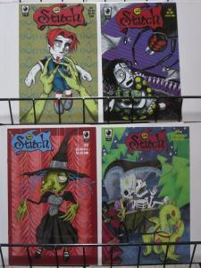 STITCH (1999 SLG) 1-4  complete goth series!