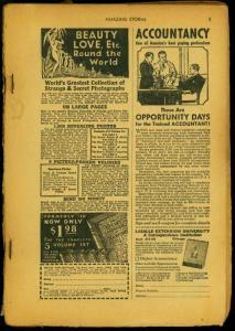 Amazing Stories Pulp September 194? - Blitz Against Japan reading copy