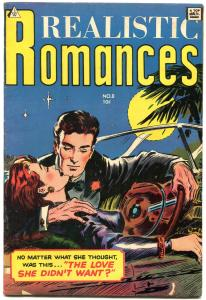 Realistic Romances #8 1964- Golden Age reprints- GGA FN-