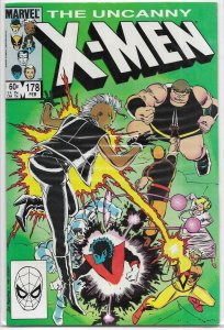 Uncanny X-Men   vol. 1   #178 FN/VF Brotherhood, Claremont/Romita Jr.