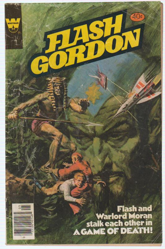 FLASH GORDON #23 1979 WESTERN PUBLISHING COMPANY (WHITMAN)  A GAME OF DEATH!