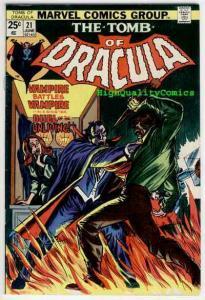 TOMB of DRACULA #21, VF, Vampire, Blade, Marv Wolfman, 1972, Colan, Tom Palmer