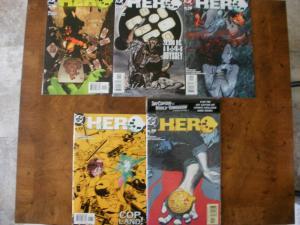 5 DC HERO Comic: #10 #11 #15 #17 UNOPENED #19 with SKY CAPTAIN WORLD OF TOMORROW