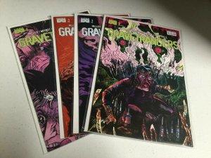 Gravetrancers 1 2 3 4 Nm Near Mint Black Mask Comics