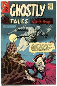 GHOSTLY TALES #62, VG, Haunted Horror, 1966 1967, more Charlton in store
