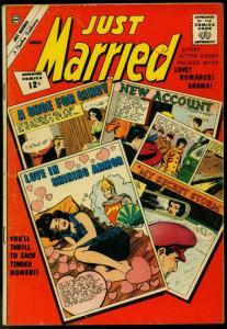 Just Married #26 1962- Spicy Romance Charlton Comic- VG