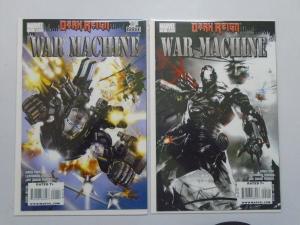 War Machine (2008- 2nd Series) #1-2 Set - 8.0 VF - 2008
