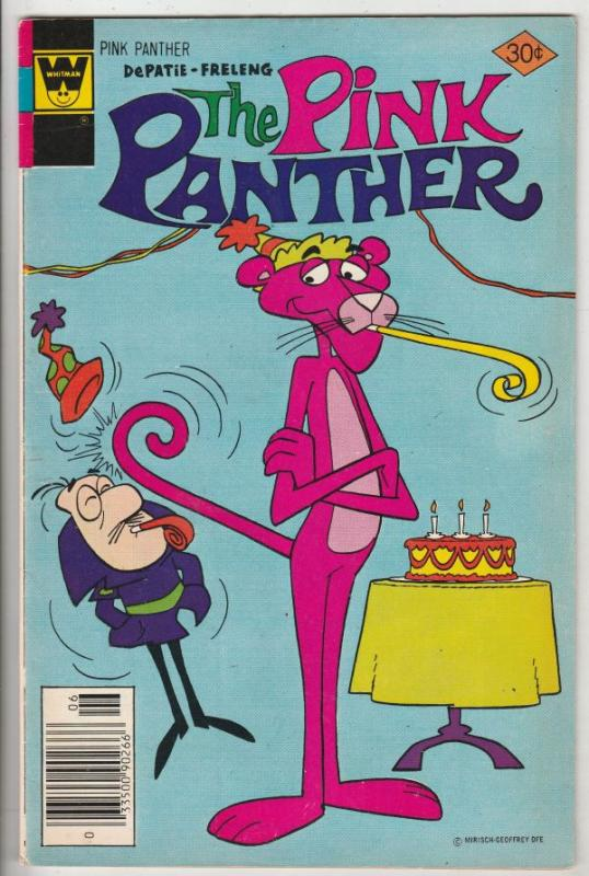 Pink Panther, The #44 (Jun-77) VF High-Grade The Pink Panther, Inspector
