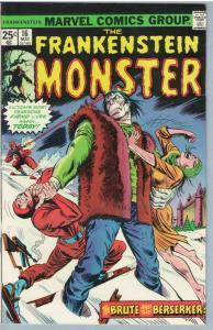 Frankenstein 16 May 1975 VF+ (8.5)