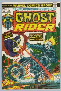 Ghost Rider 5 Apr 1974 NM- (9.2)