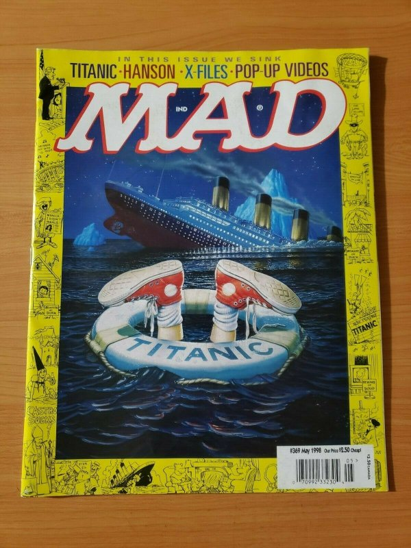 Mad Magazine #369 ~ NEAR MINT NM ~ May 1998