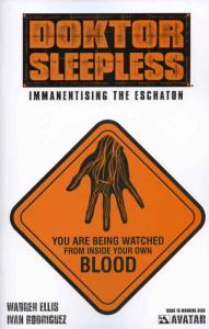 Doktor Sleepless #10B VF/NM; Avatar   save on shipping - details inside