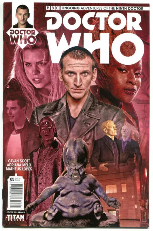 DOCTOR WHO #5 B, NM, 9th, Tardis, 2016, Titan, 1st, more DW in store, Sci-fi