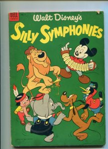 Walt Disney's Silly Symphonies 2  VG- Dell Giant The Sorcerer's Apprentice