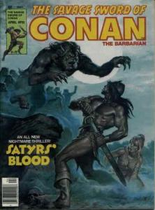 Savage Sword of Conan #51 FN; Marvel | save on shipping - details inside