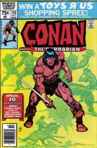 Conan the Barbarian #115 FN; Marvel | save on shipping - details inside
