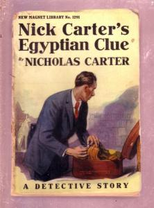NEW MAGNET LIBRARY-#1291-EGYPTIAN CLUE-NICK CARTER FR