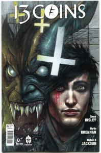 13 COINS #5, NM, Simon Bisley, 2014, Titan, Femme Fatale, more Bisley in store