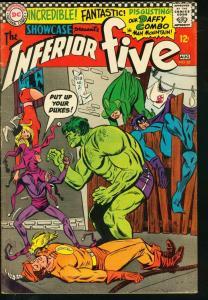 SHOWCASE #63-INFERIOR FIVE-1966-DC FN-