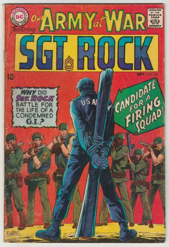 Our Army at War #184 (Sep-67) FN Mid-Grade Easy Company, Sgt Rock