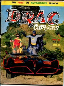 Drag Cartoons #27 1966-Wonder Warthog-Gilbert Shelton-Batman & Robin-G