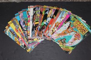 FIRST Comics HUGE LOT!  E-MAN #1-12,14-25 VF+ (HX853)