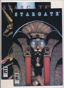 STARGATE #1,2 ENTITY COMICS (1996) ~ VF/NM (PF265)