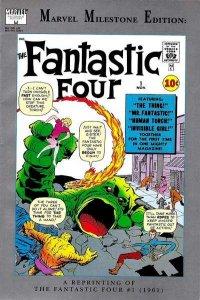 Marvel Milestone Edition Fantastic Four #1, Fine+ (Stock photo)
