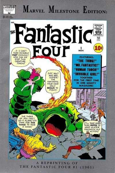Marvel Milestone Edition Fantastic Four #1, VF- (Stock photo)