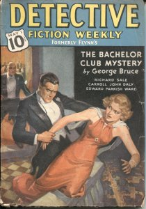Detective Fiction Weekly Pulp CRIME-MAY 1 1937-CARROLL JOHN DALY-GEORGE BRUCE-re