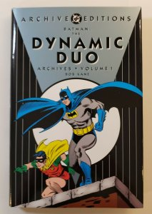 ARCHIVE EDITIONS BATMAN: THE DYNAMIC DUO  ARCHIVES VOL.1 1ST PRINT HC