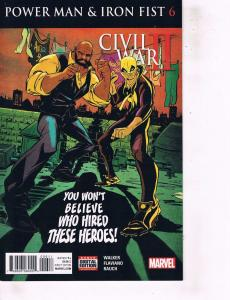 Lot Of 2 Comic Books Marvel Power Man Iron Fist #6 and #5 ON9