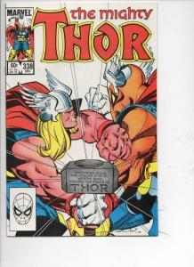 THOR #338 NM- God of Thunder Beta Ray Bill 1966 1983, more Thor in store, Marvel