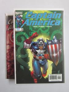 Captain America 3rd Series #4-50 Run / Missing 1,2,3,39,43,44,45 - 8.0 VF - 1998