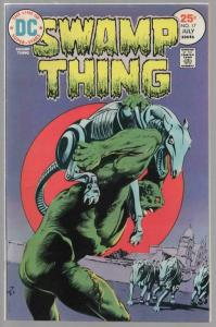 SWAMP THING 17 VG-F  July 1975
