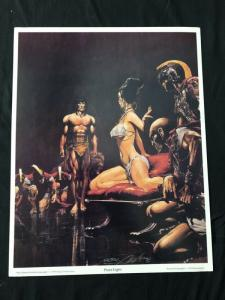 Neal Adams signed Tarzan Print Plate Eight with COA