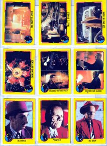 Dick Tracy Trading Cards Based on The 1990 Cult Classic !