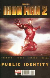 Iron Man 2: Public Identity #1 VF/NM; Marvel | save on shipping - details inside